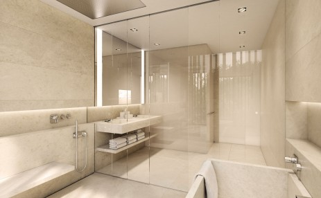 Master bathroom IN - Eleven on Lenox